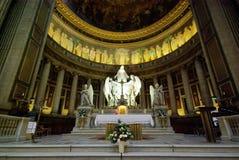 在马德琳里面的教会 库存图片