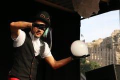 在马戏的泡影 图库摄影