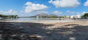 在马略卡海岛上的假日在西班牙 库存照片