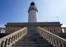 在马略卡的Formentor灯塔 免版税库存照片