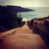 在马耳他的一天 库存图片