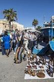 在马耳他的Marsaxlokk星期天市场 免版税库存图片