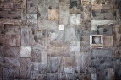 在马赛克的石墙 免版税库存图片