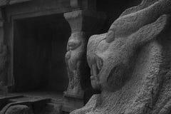 在马马拉普拉姆的古老老虎洞 免版税图库摄影
