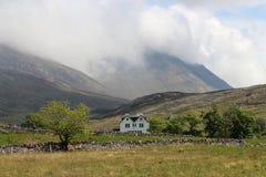 在高地的风景,苏格兰 免版税库存照片