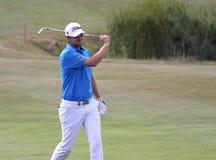 在高尔夫球法国公开赛的Berndt Weisberger 2015年 免版税库存图片
