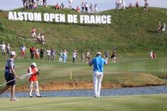 在高尔夫球法国公开赛的Berndt Weisberger 2015年 库存图片