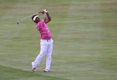 在高尔夫球法国公开赛的Tongchai Jaidee 2015年 免版税库存照片