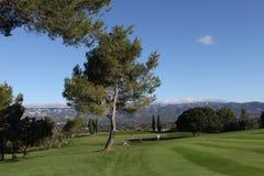 在高尔夫球的孔7,掌握13日2013年 免版税图库摄影
