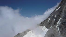 在高山山的飞行 股票视频