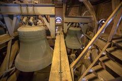在高耸的黄铜响铃 免版税图库摄影