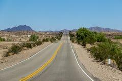 在高速公路的垂度 免版税库存照片