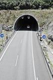 在高速公路的隧道 库存图片