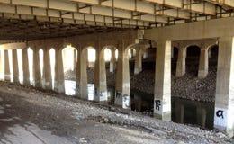 在高速公路401下的多伦多 库存图片