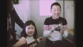 在高速火车Shinkansen 961的孩子 股票视频