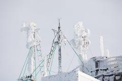 在高Tatras山的冬天 高Tatry 斯洛伐克 库存图片