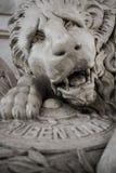 在鲁宾达里奥坟茔,利昂的狮子 图库摄影