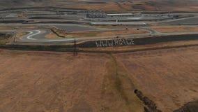 在鲁斯塔维国际Motorpark电路圆环的赛马跑道Timelapse 股票视频