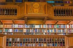 在鲁汶大学的图书馆里面,比利时5 图库摄影