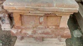在鹿野苑的废墟在瓦腊纳西 免版税库存图片