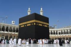 在麦加的Kaaba 免版税库存照片