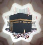 在麦加的Kaaba 库存图片