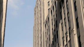 在麦迪逊广场公园NYC附近的天空桥梁 影视素材