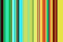 在黄色蓝色五颜六色的颜色、抽象纹理和样式的线 免版税图库摄影