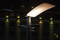在黑暗的异常的灯笼 图库摄影