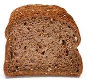 在黑暗的德国麦子上添面包 图库摄影