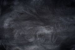 在黑板摩擦的白垩 抽象背景,空的templ 库存图片