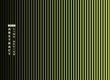 在黑背景的摘要时髦鲜绿色线 r 库存例证