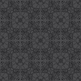 在黑色被分级的口气的无缝的样式背景 向量例证
