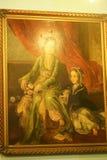 在默罕默德阿里-开罗宫殿的艺术  图库摄影