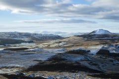 在鼓笛,苏格兰的风景人行道 图库摄影