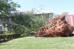 在龙卷风以后 免版税库存图片