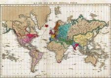 在1828年一般和平的结尾 免版税库存照片