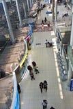 在素万那普国际机场里面 免版税库存照片