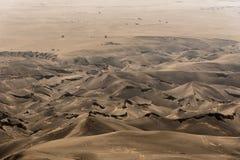 在登上Bromo的耳语的沙子 图库摄影