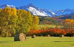 在登上Sneffels的秋天 免版税库存图片