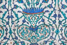 在16世纪做的墙壁的片段在土耳其 图库摄影