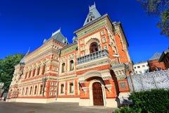 在19世纪末期建造的议院 免版税库存照片