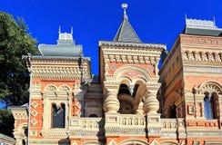 在19世纪末期建造的议院 库存图片