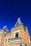 在19世纪末期建造的议院 库存照片
