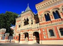 在19世纪建造的议院(细节)末期 免版税库存照片