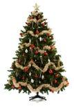 在16个图象系列被设定的圣诞树 库存照片