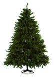在16个图象系列被设定的圣诞树 免版税库存图片
