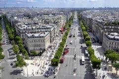 在巴黎之上 免版税库存图片