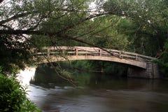 在水之下的桥梁 免版税库存照片