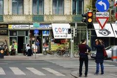 在维也纳市场上 库存图片